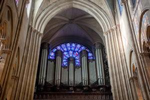 В Нотр-Даме начали реставрировать орган. Работы продлятся 4 года