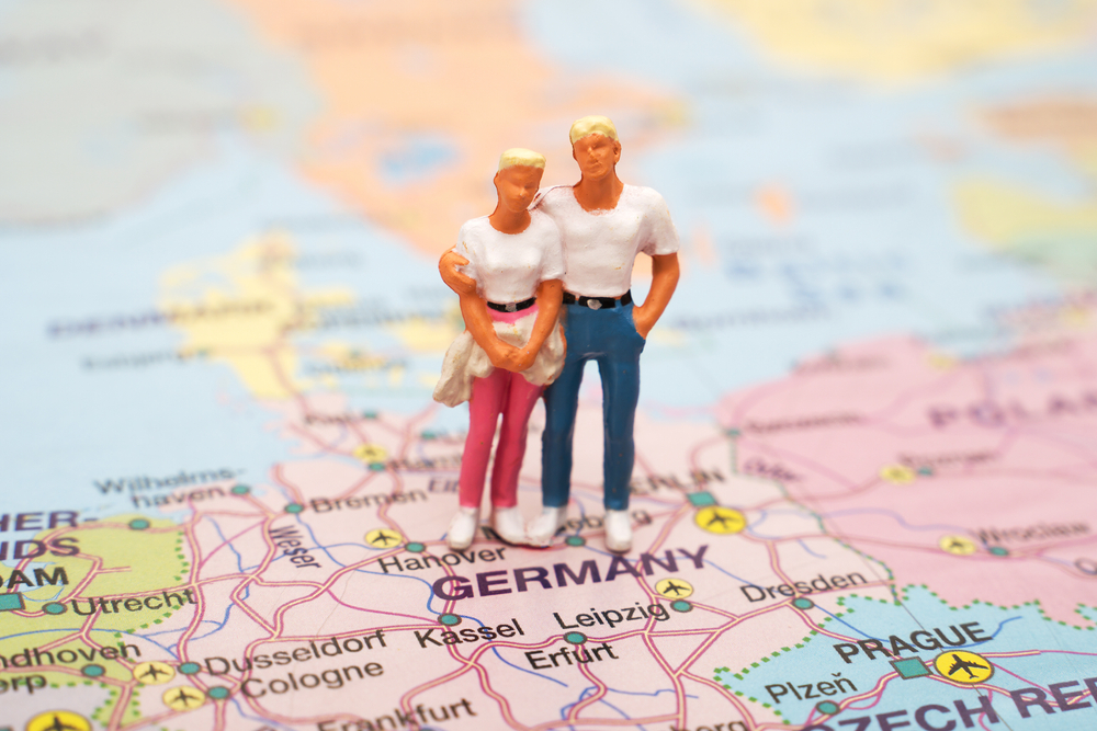 В Германии воссоединятся неженатые пары, разлученные пандемией