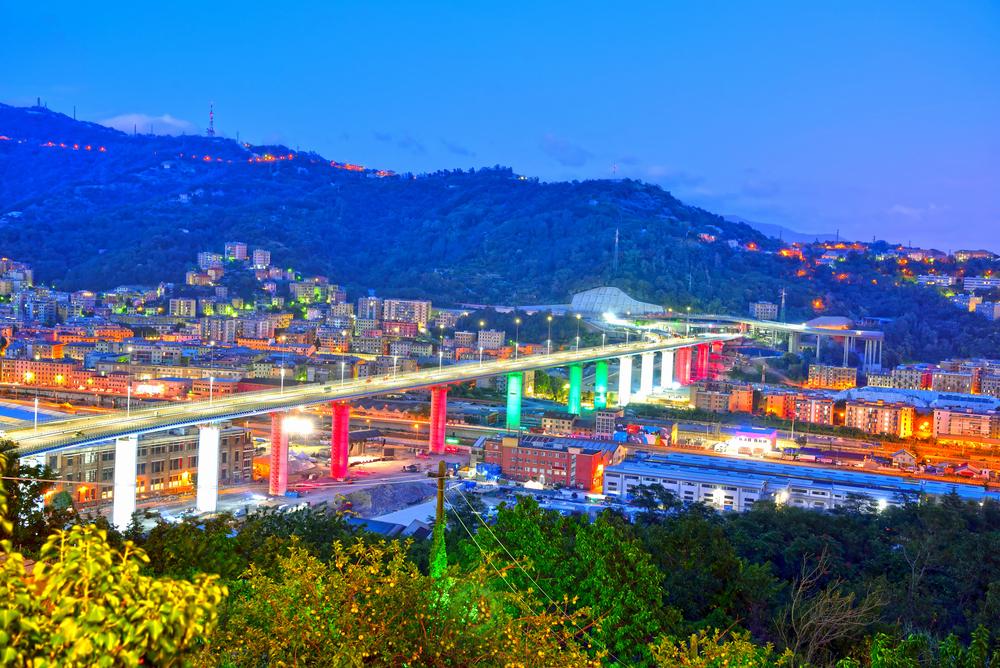 В Генуе открыли новый мост на месте обвала старого.Вокруг Света. Украина