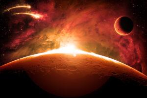 NASA показало самые захватывающие фото с орбиты Марса