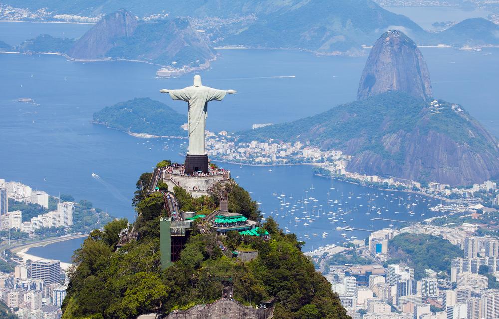 В Бразилии для туристов открыли статую Христа-Искупителя.Вокруг Света. Украина