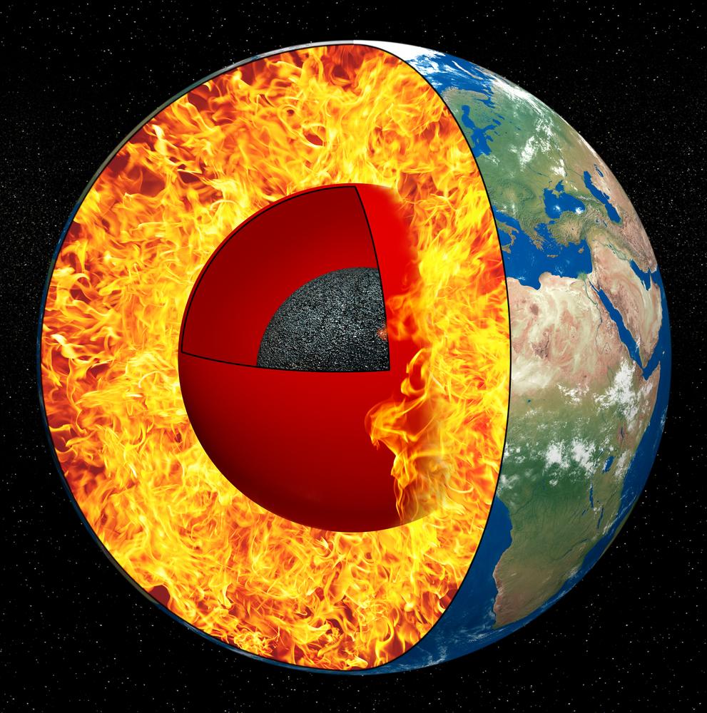 Геологи назвали возраст ядра Земли