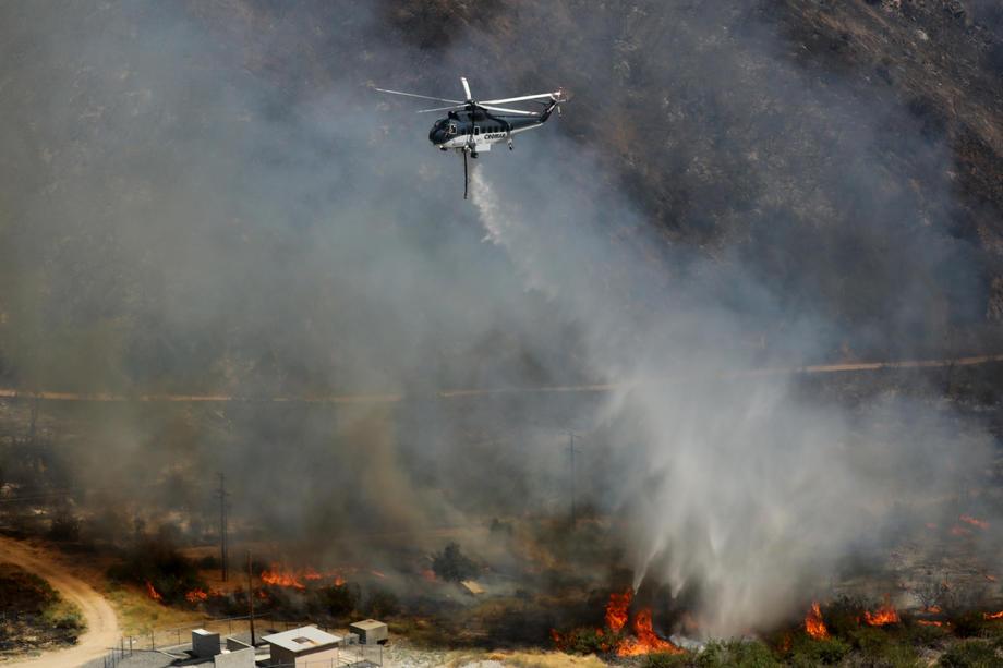 В Калифорнии из-за лесного пожара эвакуировали около 8000 человек.Вокруг Света. Украина