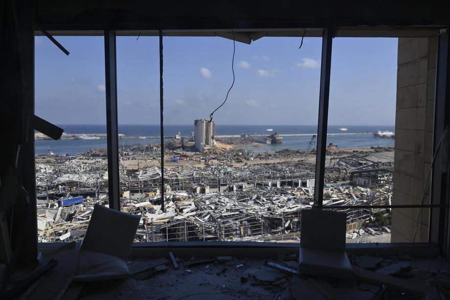 Британцы рассчитали силу взрыва в Бейруте