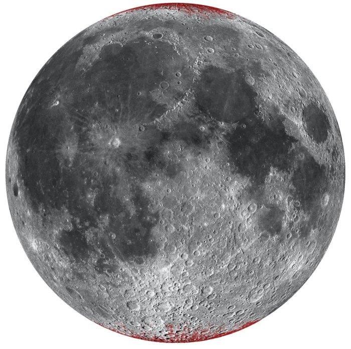 Луна ржавеет, хотя на ней нет кислорода и жидкой воды.Вокруг Света. Украина