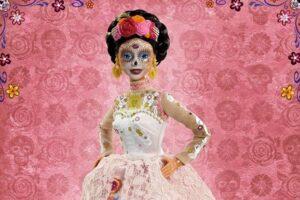 Ко Дню Мертвых появится новая розовая Барби