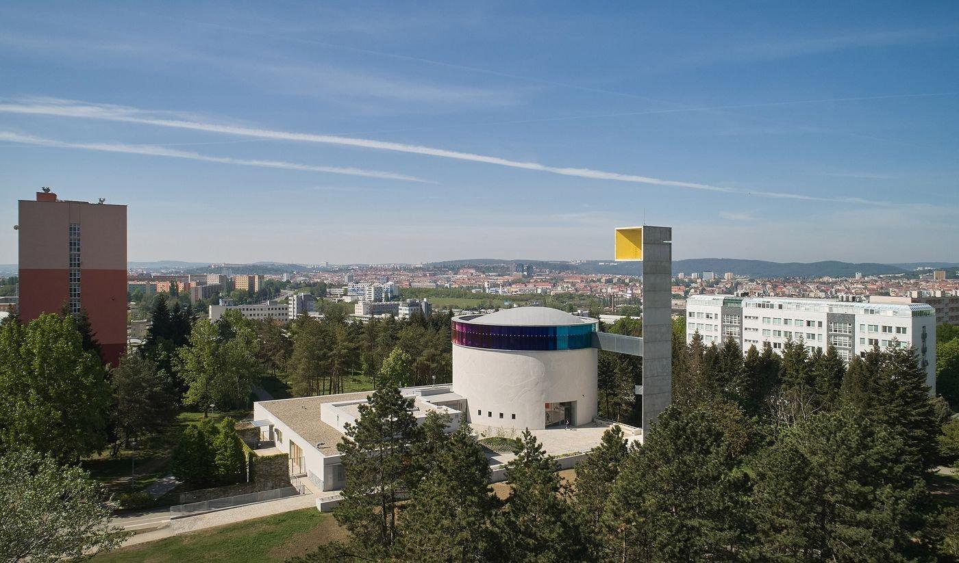 В Чехии построили круглую церковь