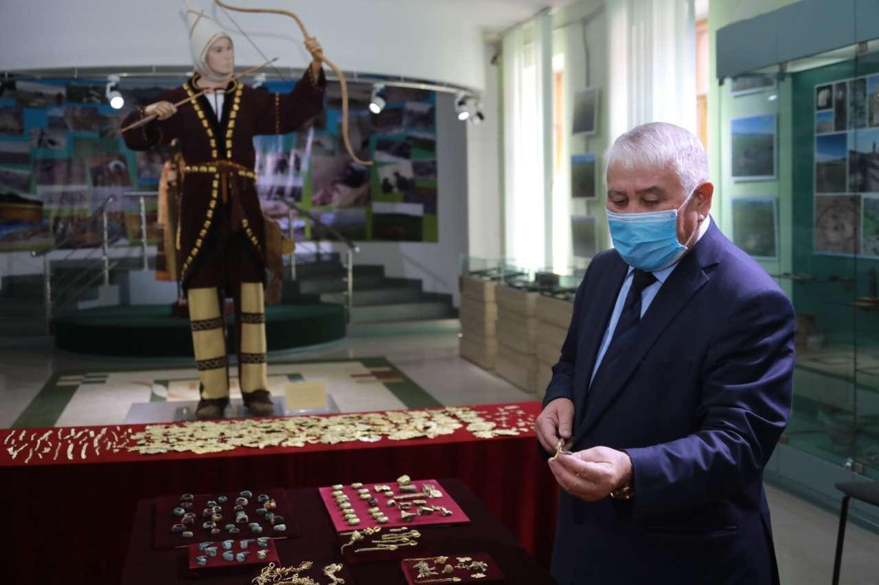 В Казахстане нашли золото скифов.Вокруг Света. Украина