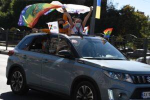 В Харькове состоялся первый украинский автопрайд