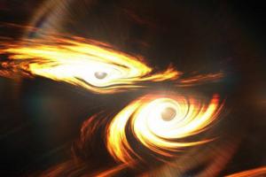 Астрономы зафиксировали крупнейшее столкновение черных дыр