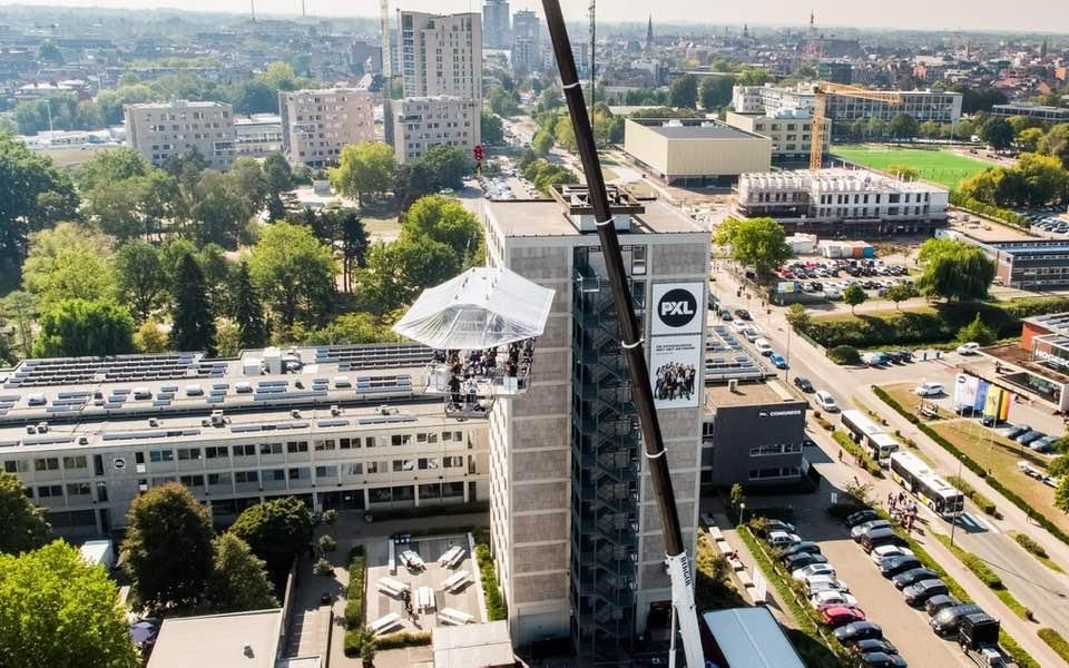 В Брюсселе возобновили «небесные ужины» на высоте птичьего полета.Вокруг Света. Украина