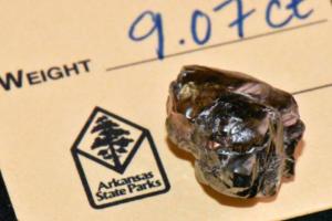 Житель Арканзаса нашел в парке алмаз весом в 9 карат