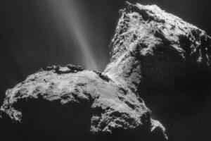 У кометы Чурюмова-Герасименко заметили ультрафиолетовое сияние
