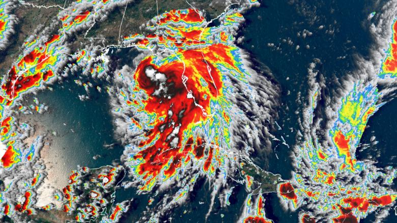 Второй раз в истории: в Атлантике одновременно бушуют пять тропических штормов.Вокруг Света. Украина