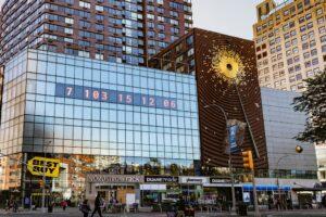 В Нью-Йорке появились часы, отсчитывающие время до климатической катастрофы