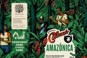 В Бразилии выпустили пиво, которое дорожает из-за вырубки джунглей