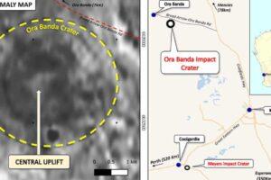 В Австралии обнаружили метеоритный кратер возрастом 100 млн лет