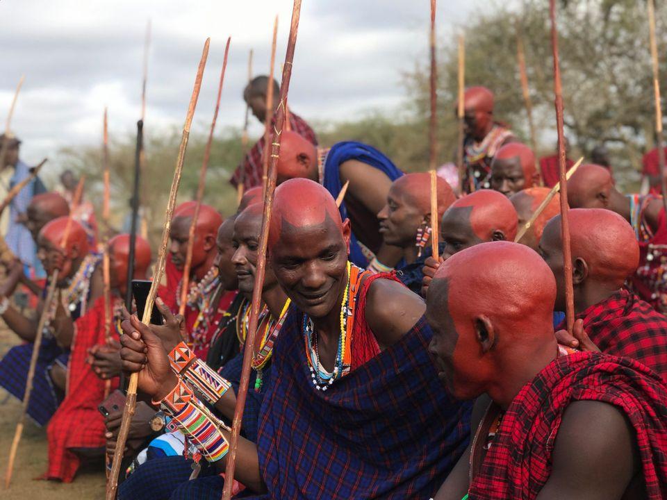 Масаи Кении и Танзании провели главную церемонию десятилетия