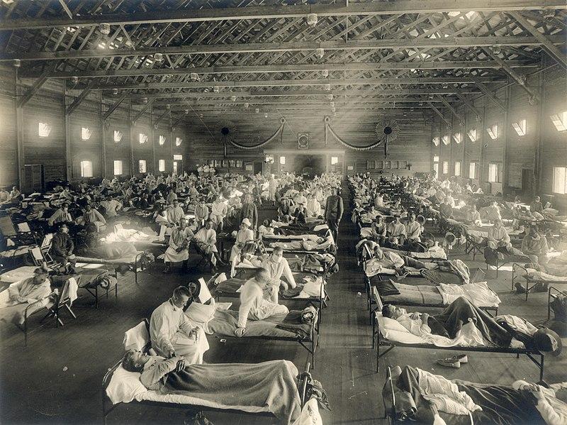 Климатическая аномалия увеличила число жертв Первой мировой и «испанки»