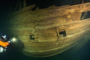 На дне Балтийского моря нашли 400-летний деревянный корабль в отличном состоянии