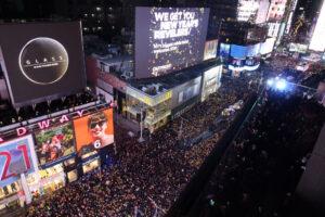 Празднование Нового года на Таймс-сквер состоится в online-формате