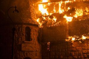 В Калифорнии сгорела знаменитая винодельня
