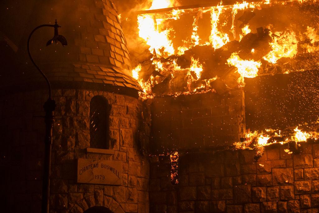 В Калифорнии сгорела знаменитая винодельня.Вокруг Света. Украина