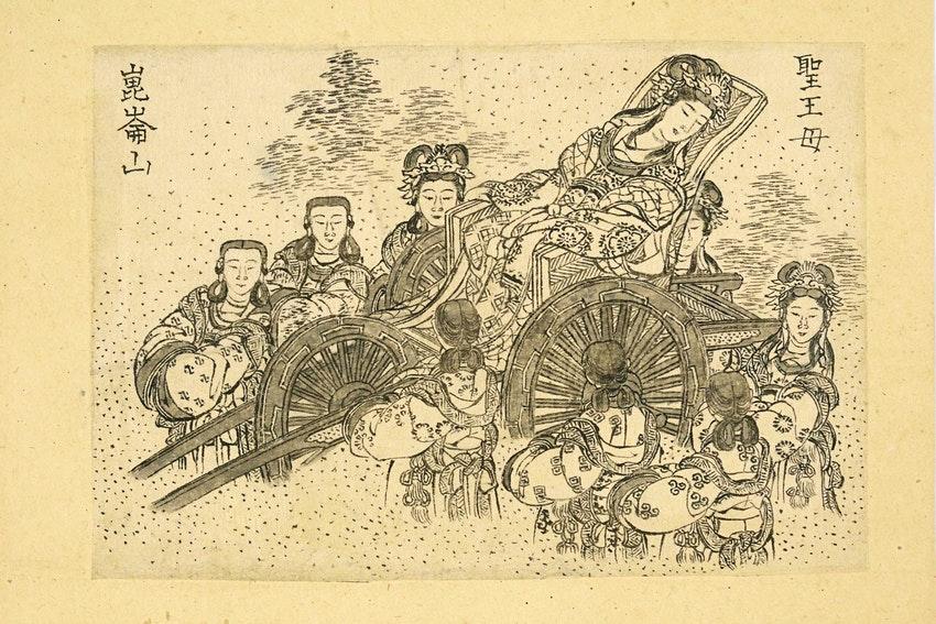 Британский музей демонстрирует забытые работы Кацусики Хокусая онлайн.Вокруг Света. Украина