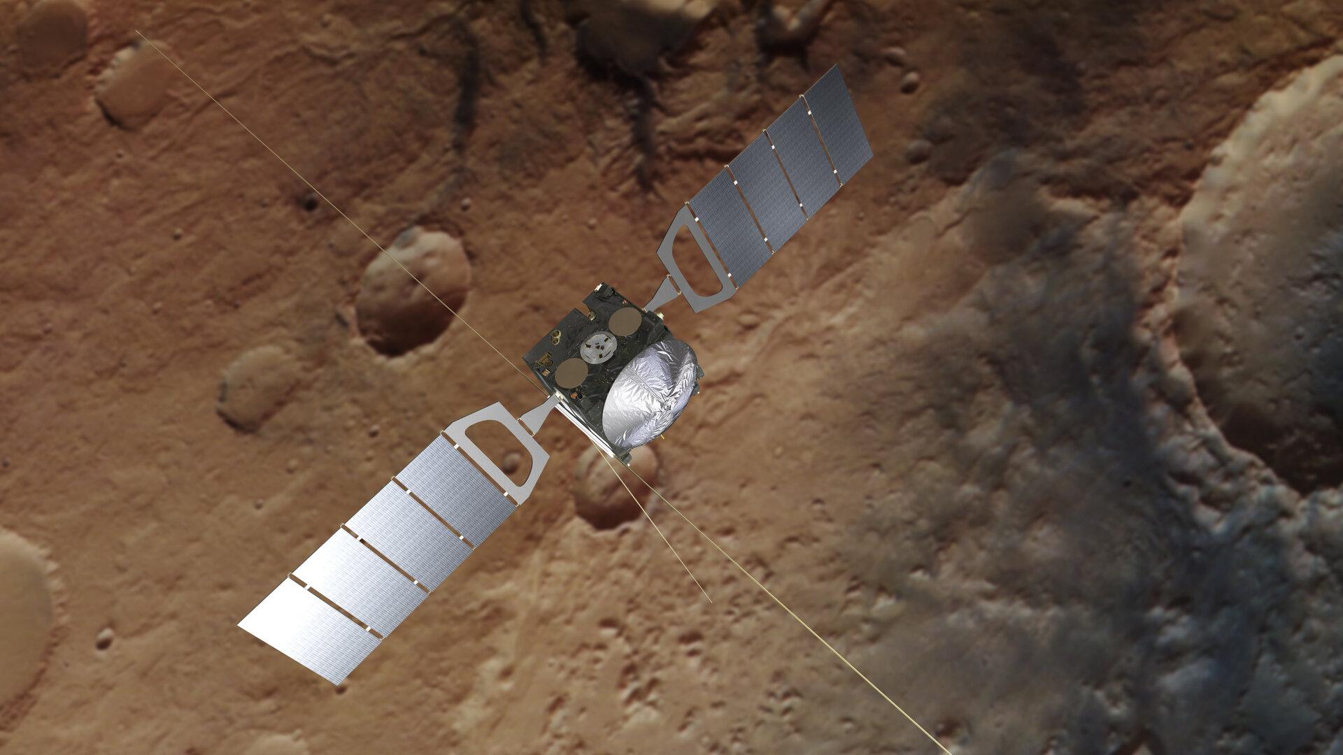 На Марсе обнаружили подземные озера