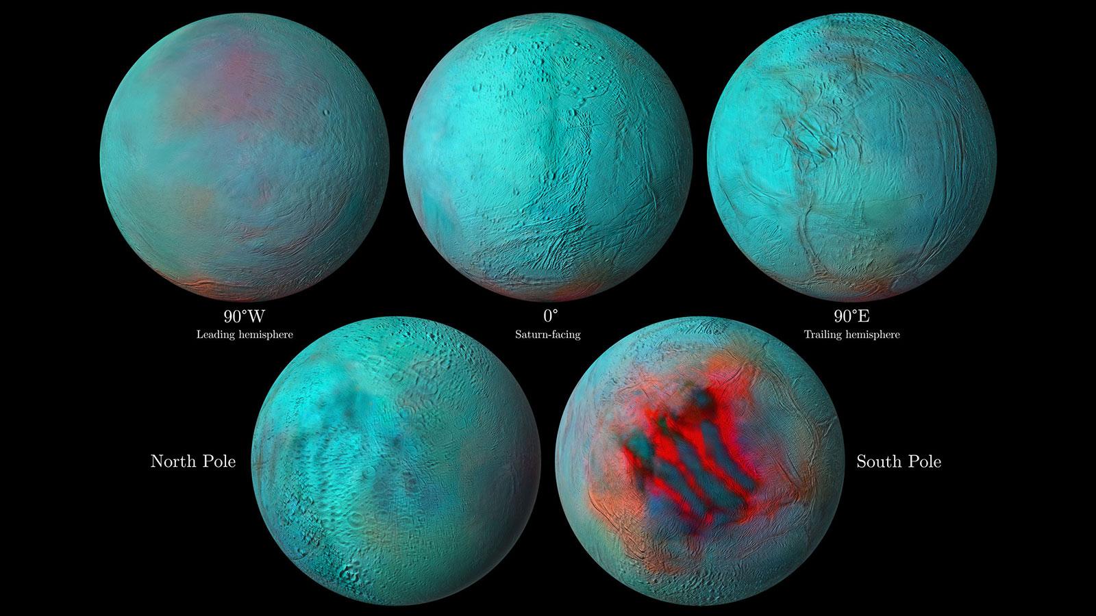 Создана интерактивная карта спутника Сатурна