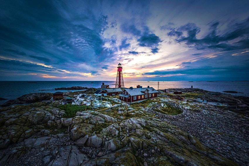 На отдаленном шведском острове открылся отель а-ля домик смотрителя маяка
