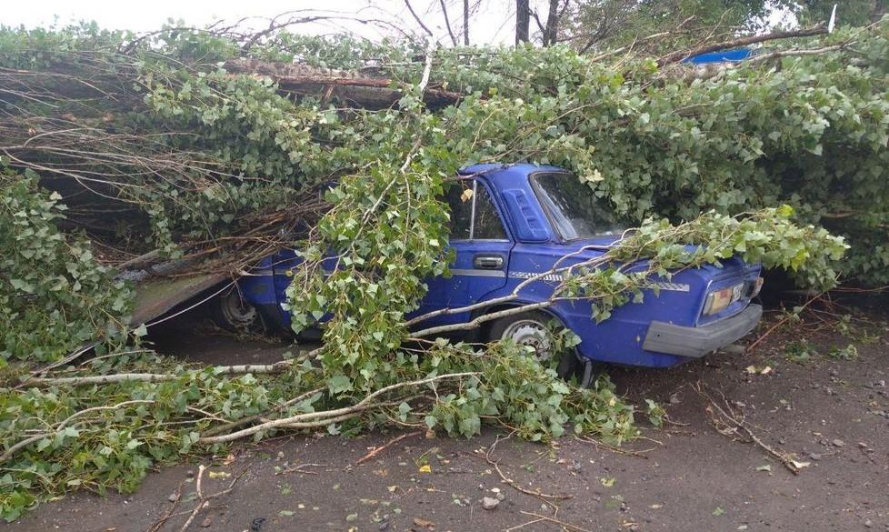 В Херсонской области пронеся ураган