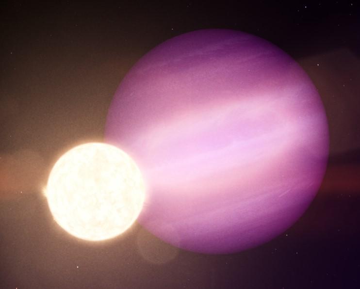 Астрономы нашли чудом выжившую экзопланету