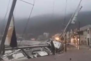 На Грецию обрушился тропический ураган