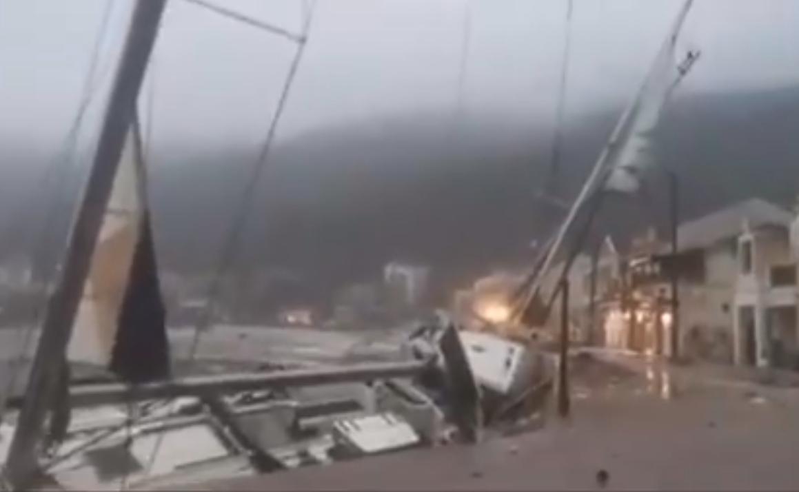 На Грецию обрушился тропический ураган.Вокруг Света. Украина
