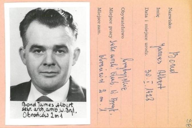 В польских архивах нашли следы реального Джеймса Бонда