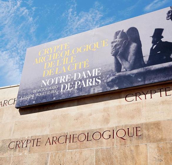 Крипта Нотр-Дама открылась для публики с новой выставкой