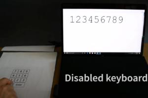 Американцы сделали клавиатуру из бумаги. Её можно подключить к ноутбуку