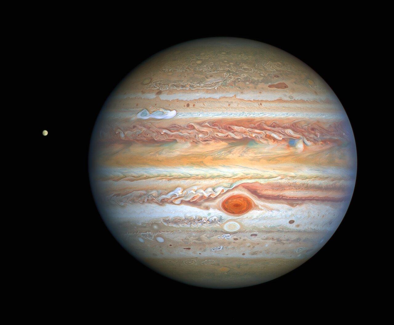 На Юпитере формируется новое Большое пятно.Вокруг Света. Украина