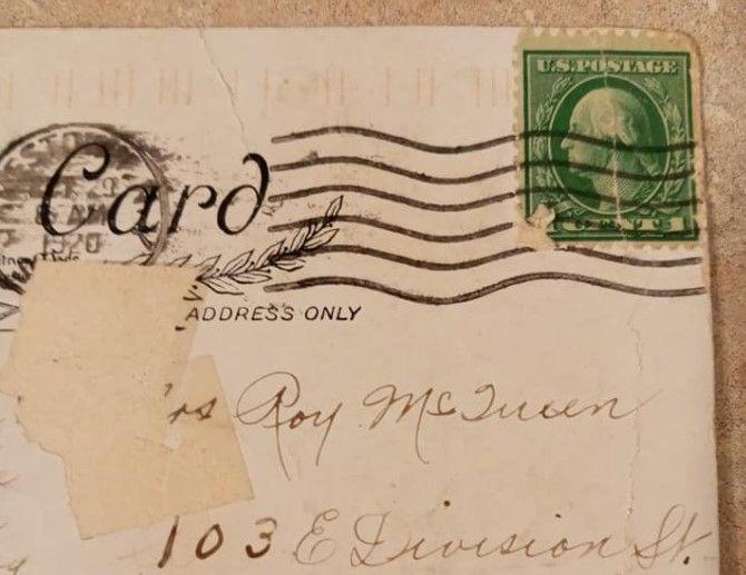Американка получила открытку, отправленную сто лет назад.Вокруг Света. Украина