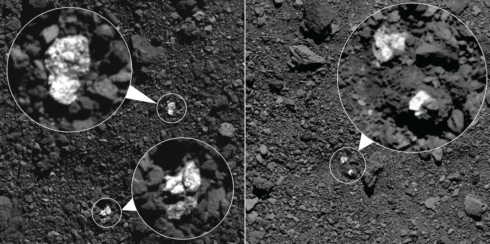 На поверхности Бенну обнаружили следы столкновения с другим астероидом.Вокруг Света. Украина