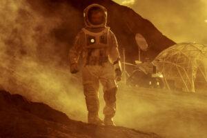 Земляне будут строить жилье на Марсе из насекомых