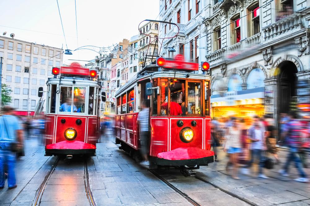 Стамбул что посмотреть Истикляль