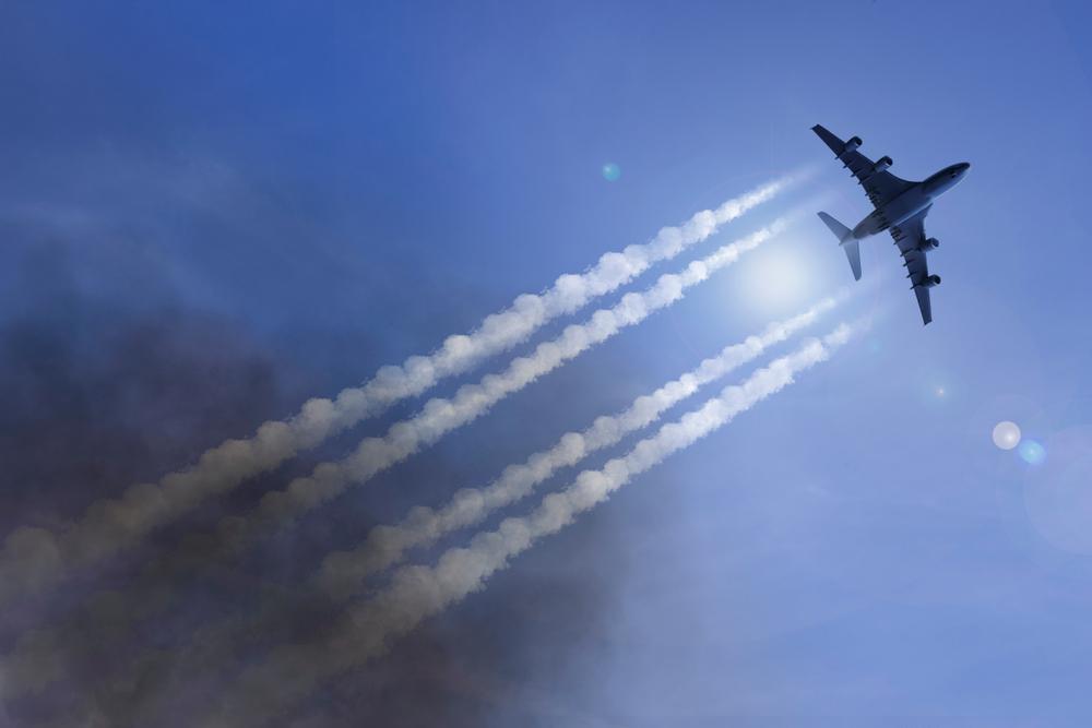Подсчитан точный вклад авиации в глобальное потепление.Вокруг Света. Украина