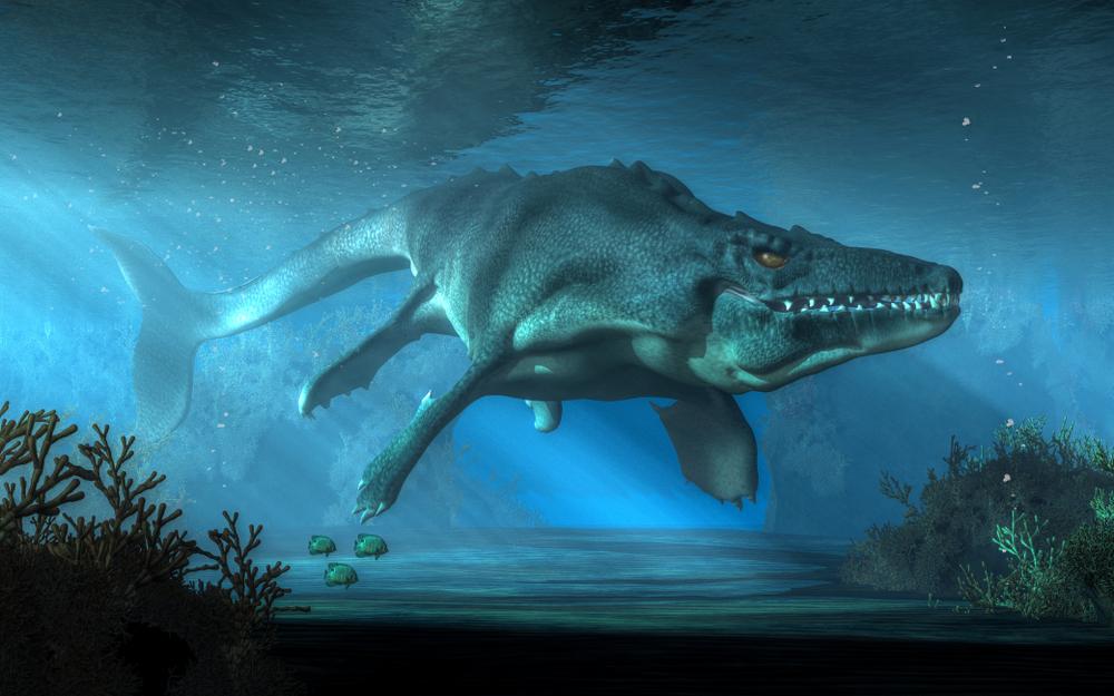 Палеонтологи открыли новый вид мозазавра-макрохищника.Вокруг Света. Украина