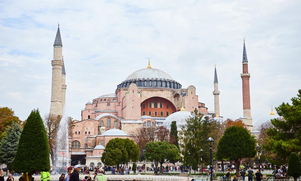 Стамбул что посмотреть Айя София