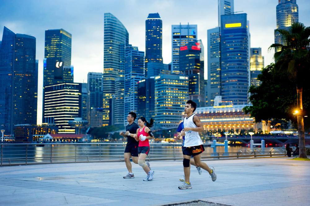 Сингапурцам будут платить за здоровый образ жизни