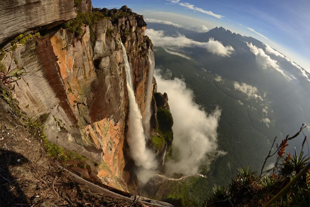 Какой водопад самый высокий в мире