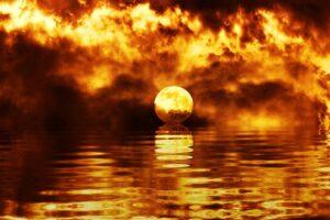 В океанах образуются убийственные волны жары