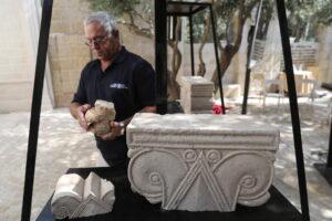 В Иерусалиме откопали фрагменты роскошного дворца VIII века до н. э.